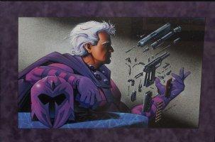 Magneto Painting (Large) Comic Art