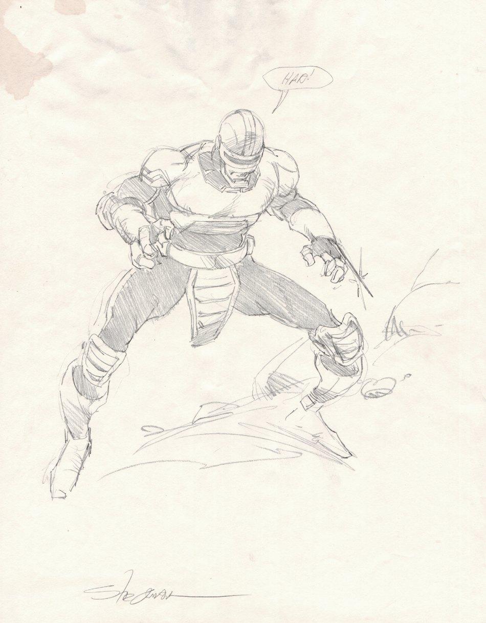 Jugger (From Alien Legion) Pinup