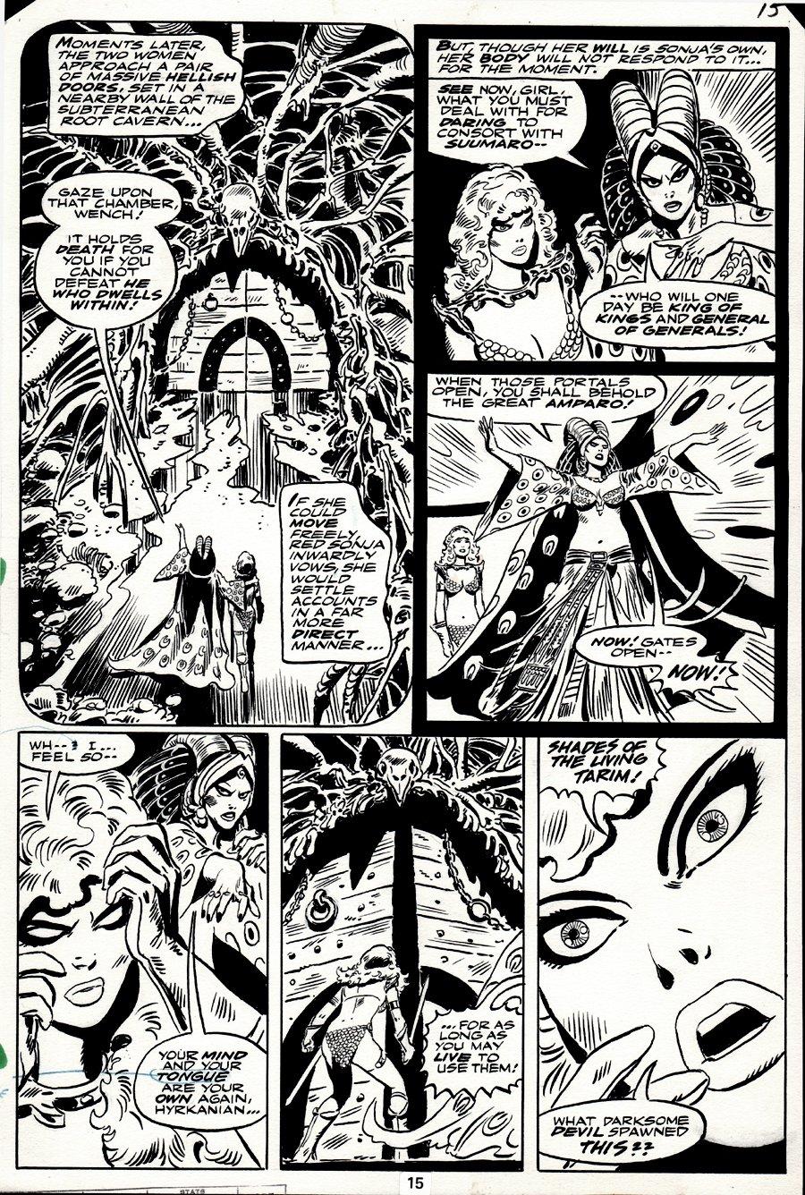 Red Sonja #9 p 15 (1978)