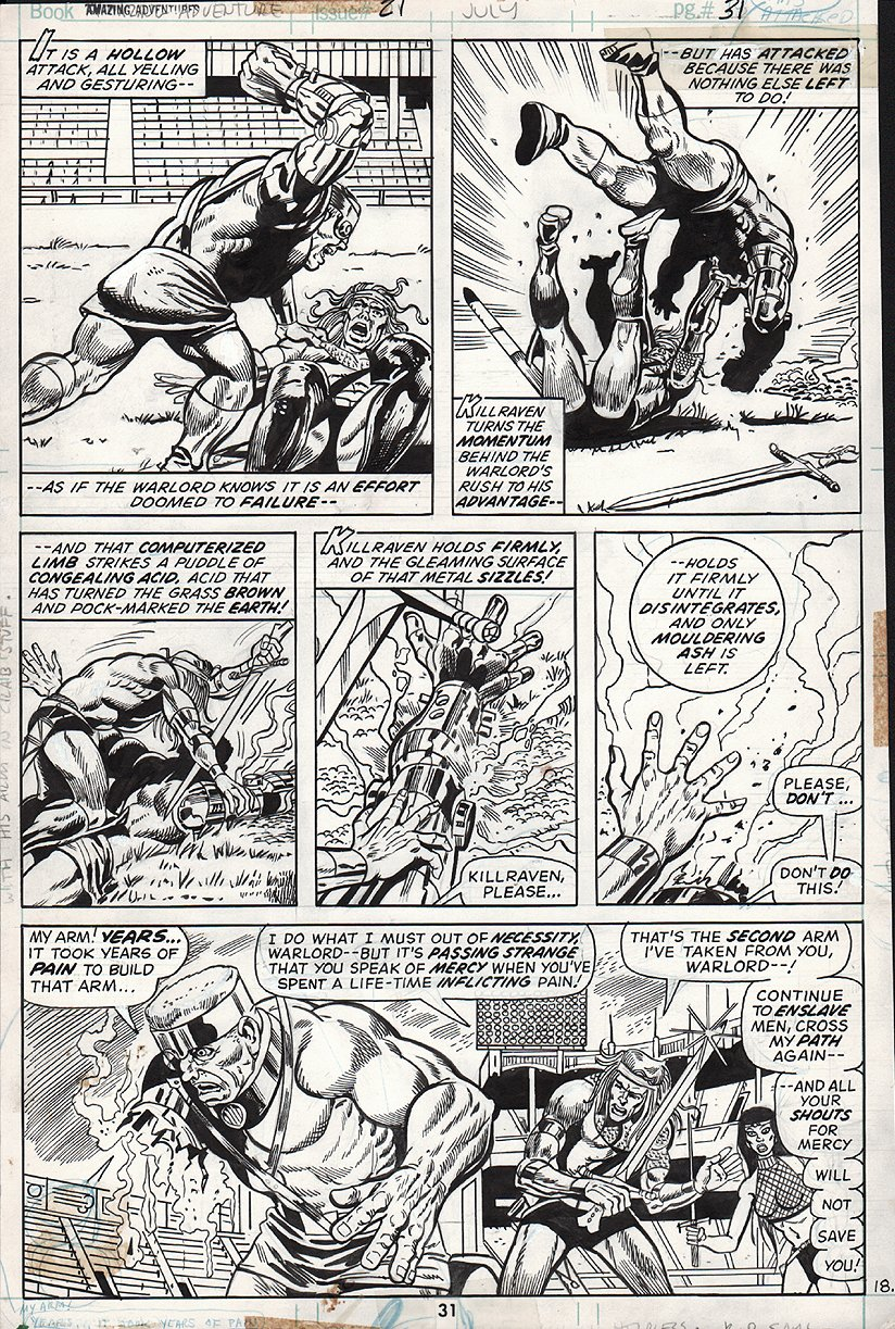 Amazing Adventures #21 p 31 (1973)