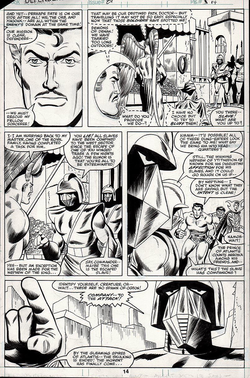 Defenders #81 p 14 (1979)