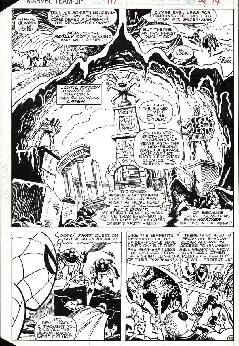 Marvel Team-Up #111 p 10 SPLASH (1981)