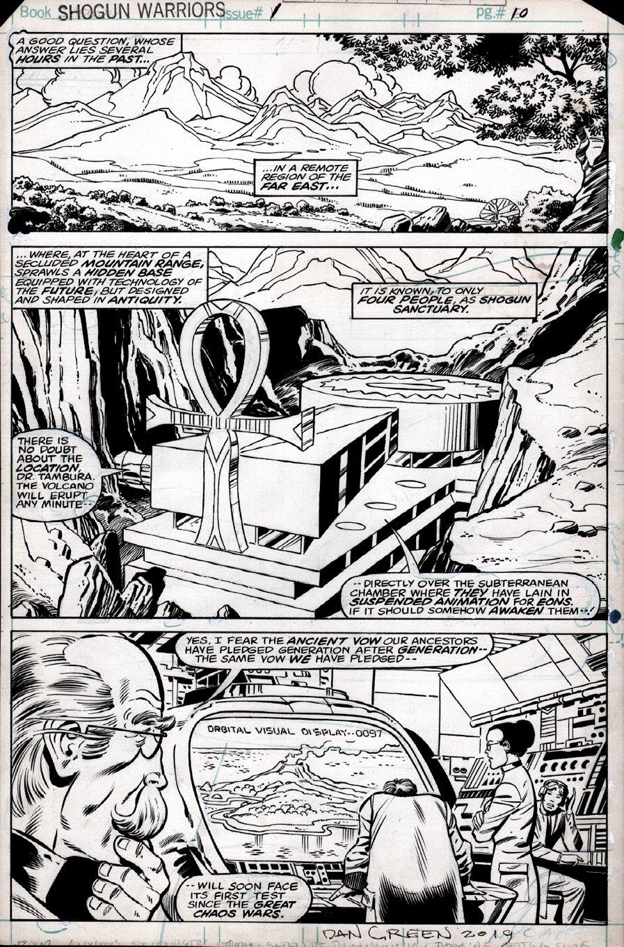 Shogun Warriors #1 p 10 (FIRST ISSUE!) 1978