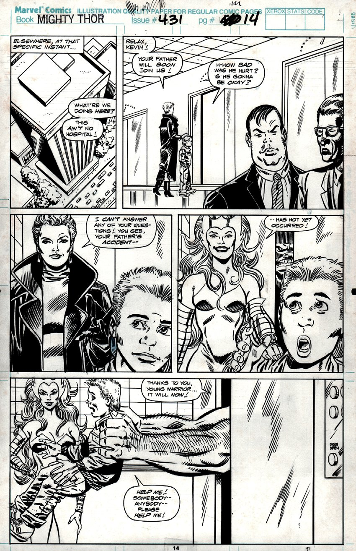 Thor #431 p 14 (1991)