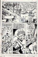 Incredible Hulk #162 p 15 (Lost Page) 1972 Comic Art