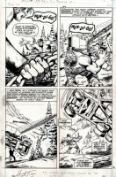 Incredible Hulk #162 p 18 (Lost Page) 1972 Comic Art