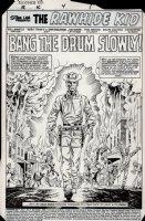 Rawhide Kid #4 p 1 SPLASH (1985) Comic Art