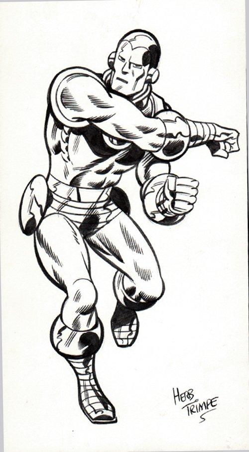 Iron Man Merchandising Art (1974-1975)