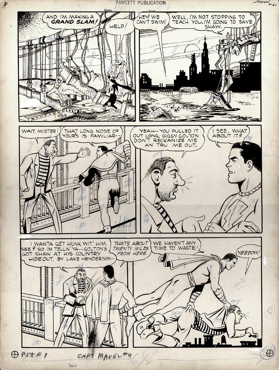 Captain Marvel Adventures #4 p 9 (Large Art) 1941