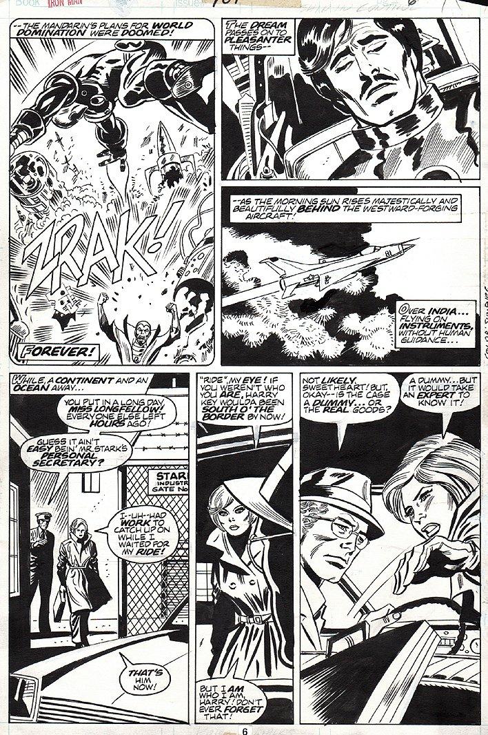 Iron Man #101 p 6 (1977)