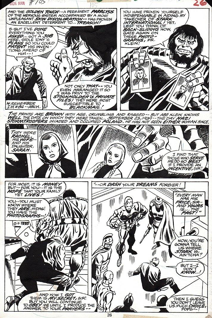 Iron Man #105 p 26 (1977)