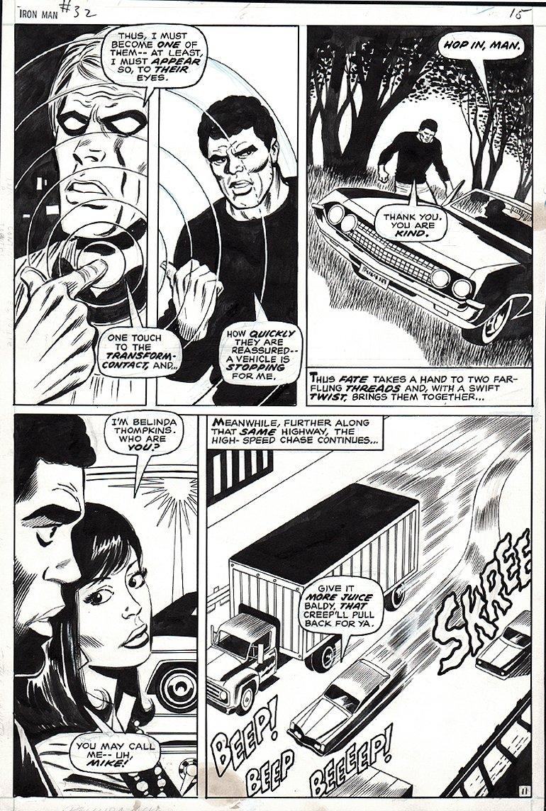 Iron Man #32 p 11 (1970)
