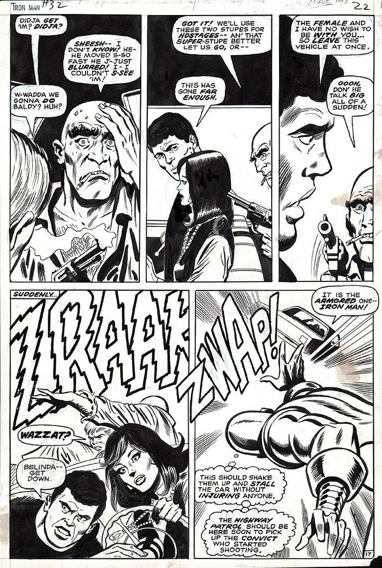 Iron Man #32 p 17 (1970)
