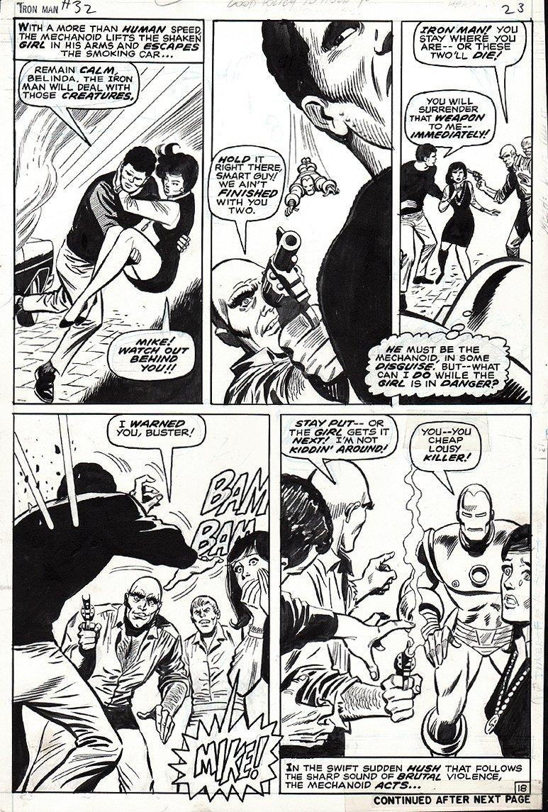 Iron Man #32 p 18 (1970)
