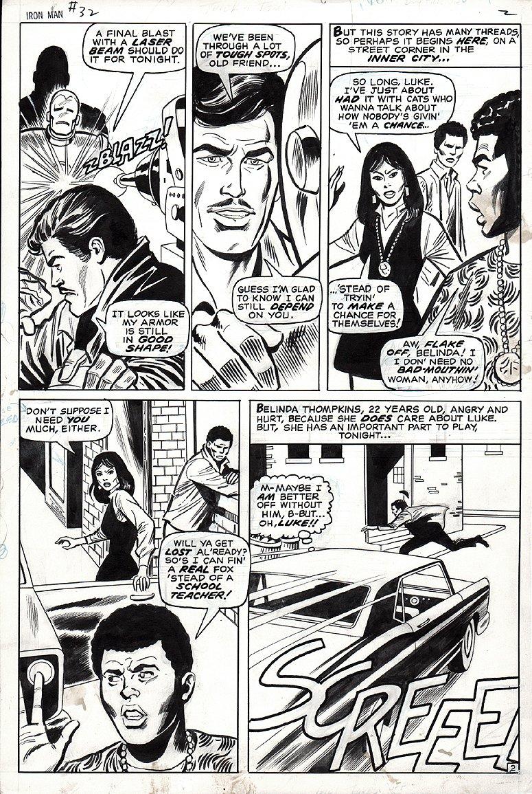 Iron Man #32 p 2 (1970)