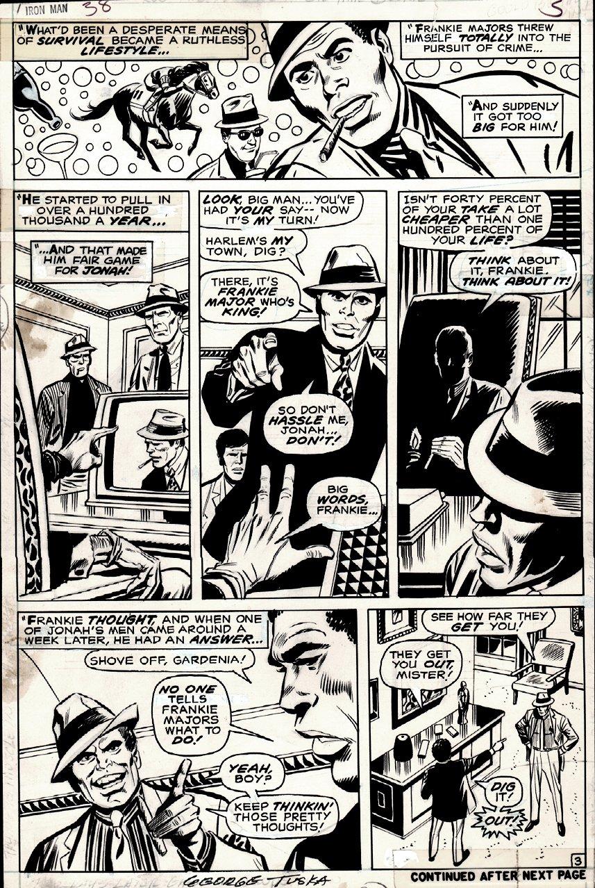 Iron Man #38 p 3 (1970)