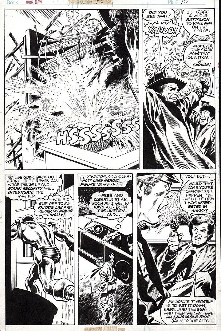 Iron Man #90 p 15 (1976)