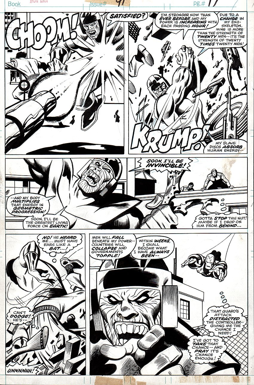 Iron Man #91 p 17 (1976)