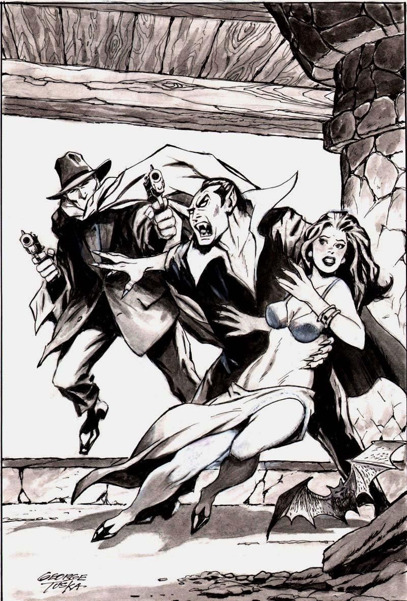 Shadows, Villains, and Good Girls - Published Portfolio Illustration