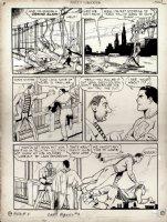 Captain Marvel Adventures #4 p 9 (Large Art) 1941 Comic Art