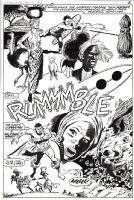 Astonishing Tales #6 p 8 SPLASH (1971) Comic Art