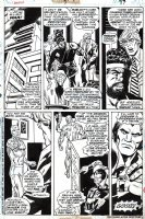 Champions #7 p 17 (1976) Comic Art