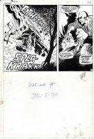 Iron Man #32 p 13 (1970) Comic Art
