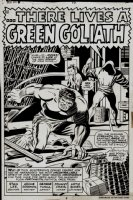 Iron Man #9 p 3 SPLASH (1968) Comic Art