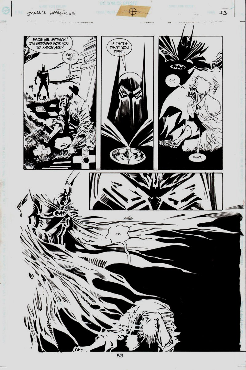 Batman: Joker's Apprentice #11 p 53 (Semi-Splash) 1999