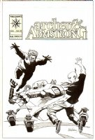 Archer And Armstrong #19 Unpublished Cover Comic Art