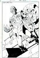 Nightmare on Elm Street #7 p 12 SPLASH Page sb Comic Art