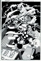 Dream Team #1 SPLASH (1995) Comic Art