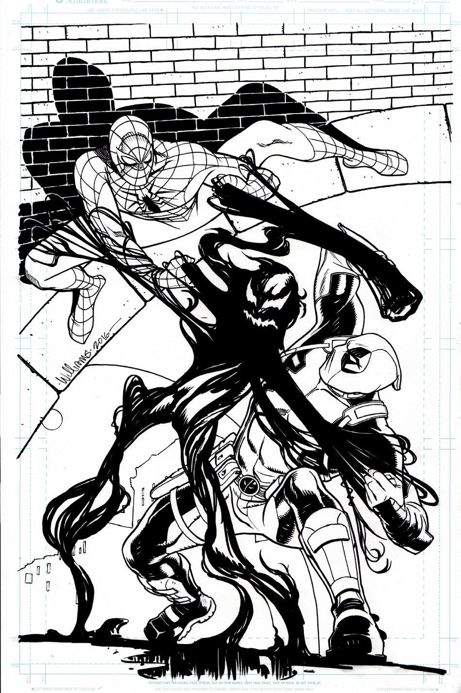 Spider-Man / Deadpool #15 Cover (2016)