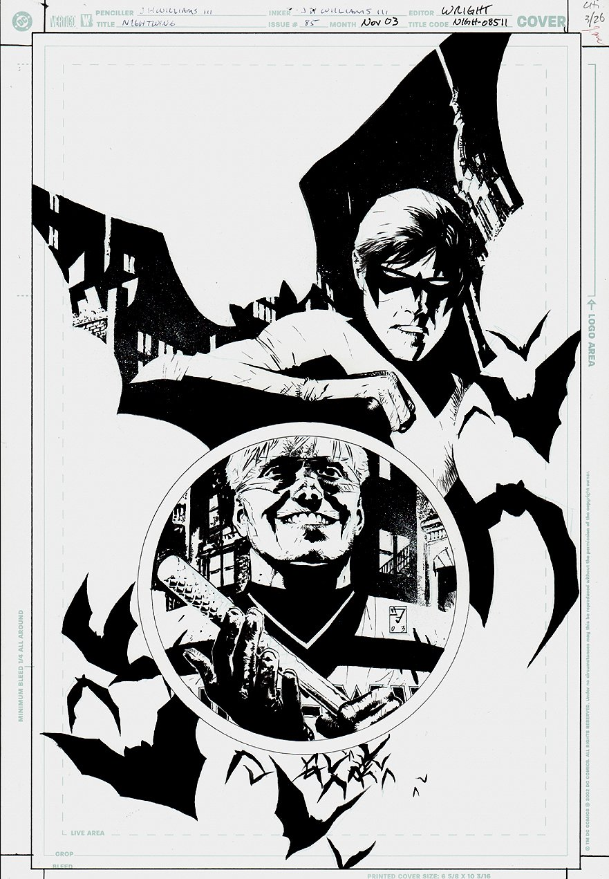 Nightwing #85 Cover (2003)