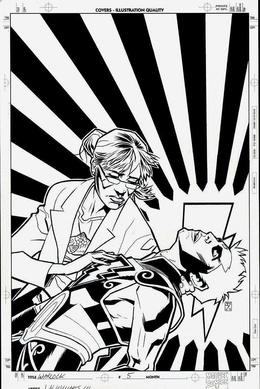 Warlock #5 Cover (2005)