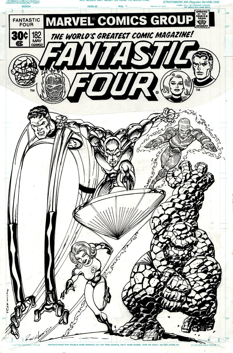 Fantastic Four Cover Recreation (WITH SILVER SURFER!) 2007