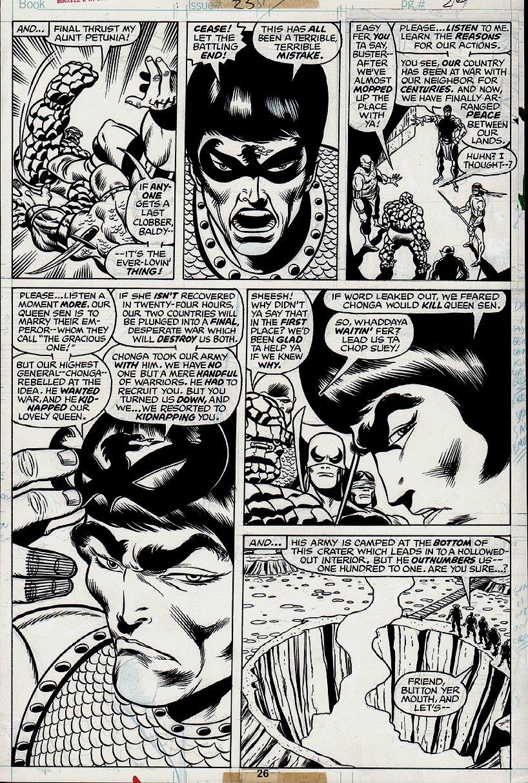 Marvel 2 in 1 #25 p 26 (1976)