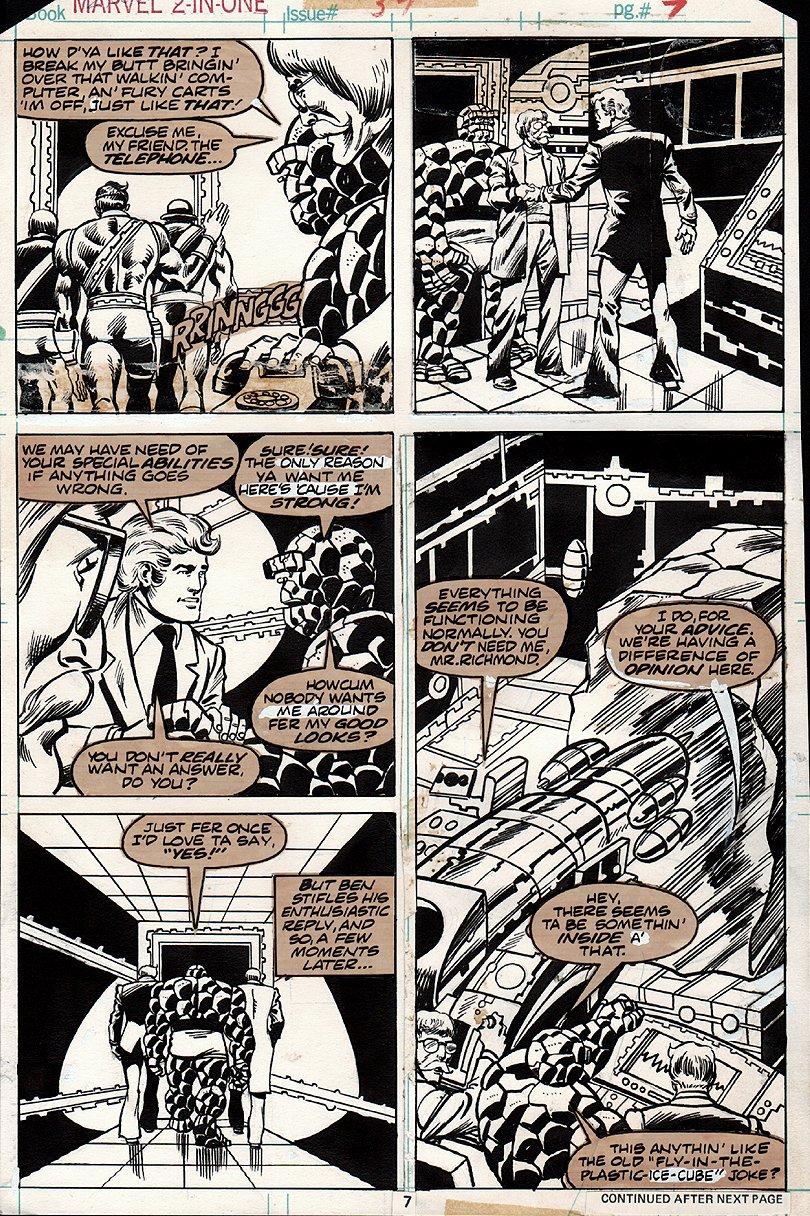 Marvel 2 in 1 #34 p 7 (1977)