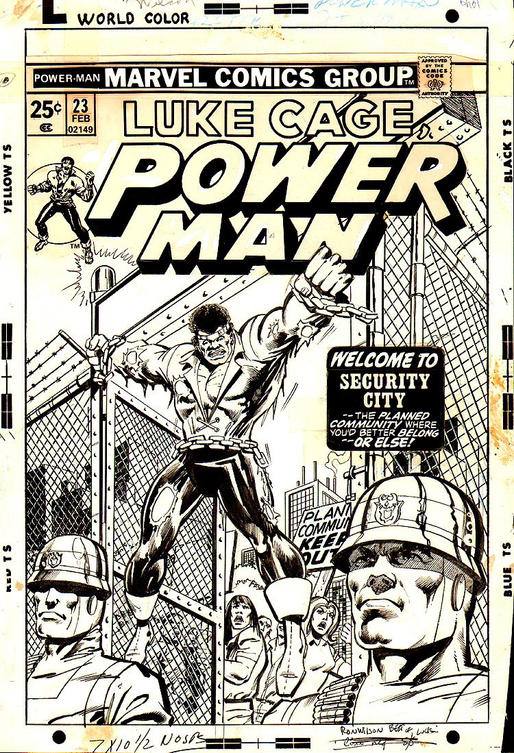 Power Man #23 Cover (1974) 