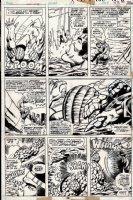 Marvel 2 in 1 #13 p 26 (1975) Comic Art