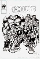 Marvel 2-in-1 Annual  Issue 7 Page COVER Recreation (2001) Comic Art