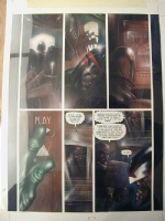 Judge Dredd Issue 76 Page 7 (Large Art) Comic Art