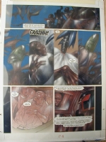 Judge Dredd Issue 76 Page 9 (Large Art) Comic Art