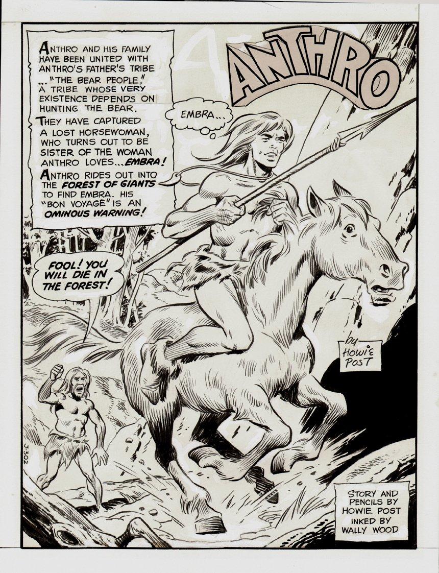 Anthro #6 p 1 SPLASH (1969)