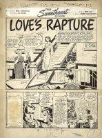 True Sweetheart Secrets #2 p 1 SPLASH (Large Art) 1950 Comic Art