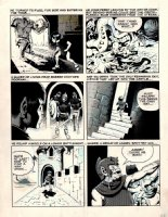 Wizard King Trilogy p 28 (Large Art) Comic Art