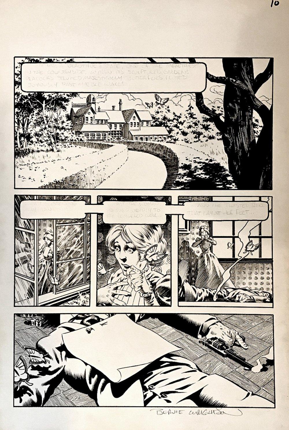 FREAKSHOW p 10 (Large Art) 1982