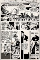Swamp Thing #7 p 4 (NICE BATMAN PAGE!) 1973 Comic Art