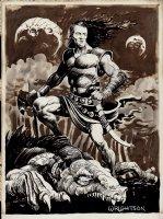 OSFIC #1 Front Cover Art Comic Art