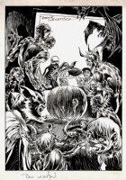 Bernie Wrightson: A Look Back: 'Trick Or Treaters' Published Illustration / Unpublished Cover (1973) Comic Art